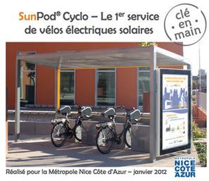 Advansolar lance le 1er service de vélos électriques solaires | ECONOMIES LOCALES VIVANTES | Scoop.it
