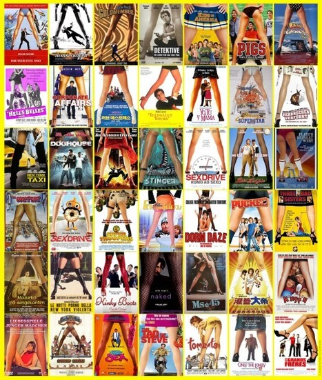 16 énormes types de plagiats entre affiches de films | CRAW | Scoop.it
