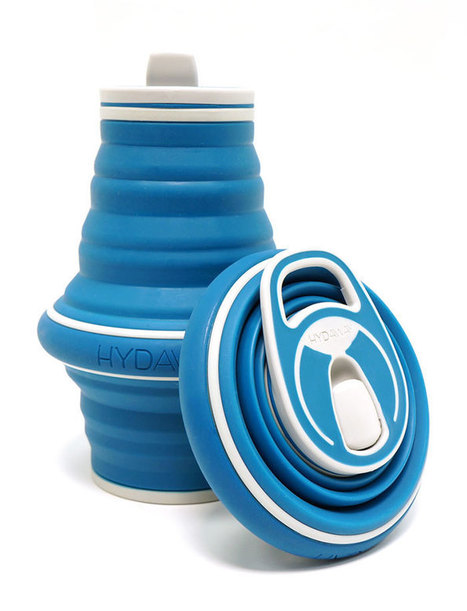 Be part of the solution: a collapsible, reusable water bottle that fits in your pocket | Green Stuff. | Scoop.it