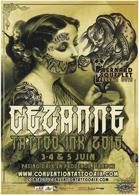 Cezanne Tattoo Ink 3ème edition, La Convention | Communiquaction | Communiquaction News | Scoop.it