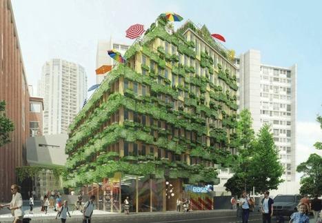 Les villes se réinventent en bois - Immoweek | CODIFAB | Scoop.it