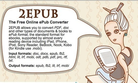 Convert Books to ePub Format | ICT Resources for Teachers | Scoop.it