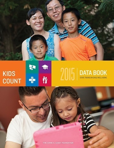 The 2015 KIDS COUNT Data Book // The Annie E. Casey Foundation | Health Education Resources | Scoop.it