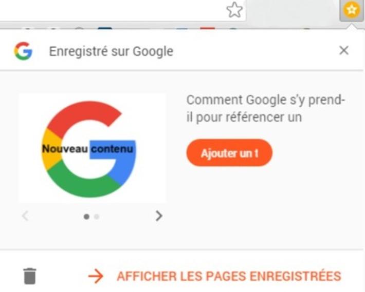 Google lance l'extension Enregistrer sur Google pour sauvegarder les contenus | Solutions locales | Scoop.it