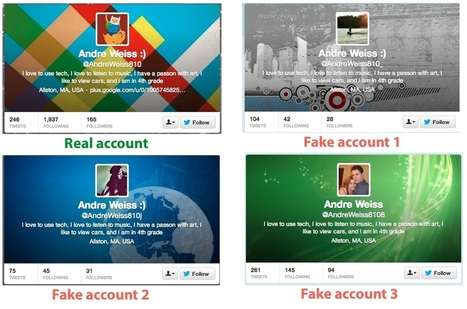 How to tell if your followers are #fake...read more | Influence Engine Optimization | Scoop.it