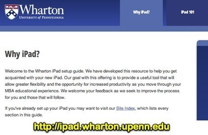 Lessons Learned from Large iPad Student Deployment at The ... | iPads for My Classroom | Scoop.it