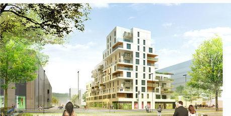 A Rouen, l'écoquartier Luciline pousse à quelques encablures du centre historique | La revue de presse de Normandie-actu | Scoop.it