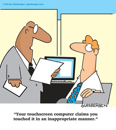 Touch screen | Glasbergen | hacker zone | Scoop.it