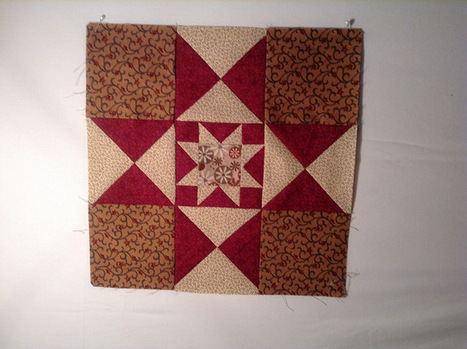 Threads of Memory : 2014 Block of the Month | Quilts-CivilWar | Scoop.it