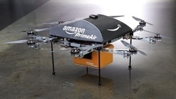 CBC News - Amazon PrimeAir drone deliveries possible in 5 years, CEO Jeff Bezos says | Technology in the Business Tomorrow | Scoop.it