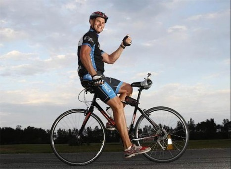 Cyclist Rides Bicycle Backwards for 24 Hours, Covers 337 Kilometers | Strange days indeed... | Scoop.it