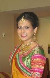 Saree Draping styles - Look gorgeous & different at your wedding - central jersey creative services - backpage.com   Indian Wedding Hair and Makeup in Parlin, NJ - SakhiBeauty   Scoop.it