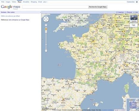 Le Technoblog du LAC: Google Maps: Mise à jour pour la France, le ...   Google - le monde de Google   Scoop.it