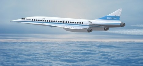 Boom XB-1 Supersonic Airliner Design Launched | Innovation Aero | Scoop.it