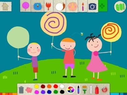 Squiggles iPad App: Enhance Your Child's Creativity | GSHP eLearning | Scoop.it