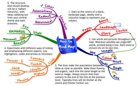 How to Use Mind Maps to Unleash Your Brain's Creativity and Potential | Matemática e não só! | Scoop.it