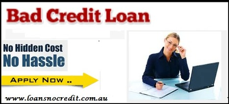 Bad Credit Loans –Meet Your Urgent Monetary Requirements With Easy Funds   No Credit Check Payday Loans   Scoop.it