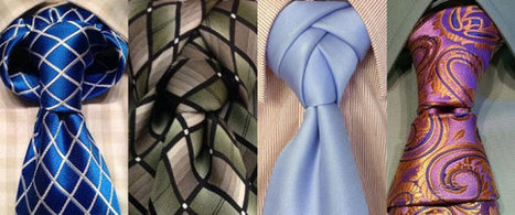 30 Different Ways To Tie A Tie That Every Man Should Know | Xposing e-commerce, fashion & unique items. | Scoop.it