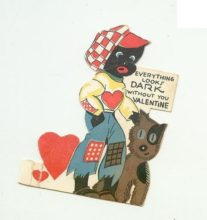 Any Day Can Be Valentine's Day For Collectors | Collectors' Blog | Colorful Prism Of Racism | Scoop.it