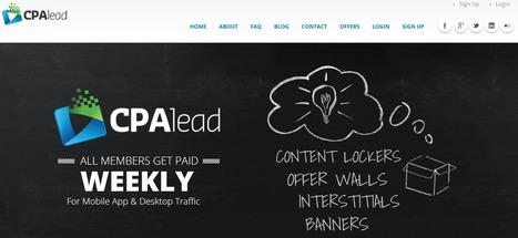 CPAlead review : Affiliate marketing network | wordpress | Scoop.it