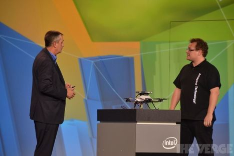 Intel's RealSense technology taught a drone to fly itself   The Verge   Cultibotics   Scoop.it