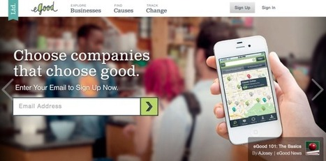 eGood Is A Mobile Payment And Loyalty System That Helps Users Give Back   TechCrunch   New Customer - Passenger Experience   Scoop.it