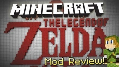 Legend of Zelda Mod for Minecraft 1.6.2 | davids700 | Scoop.it