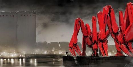 Concept Art From The Neuromancer Movie That Never Was   Post-Sapiens, les êtres technologiques   Scoop.it