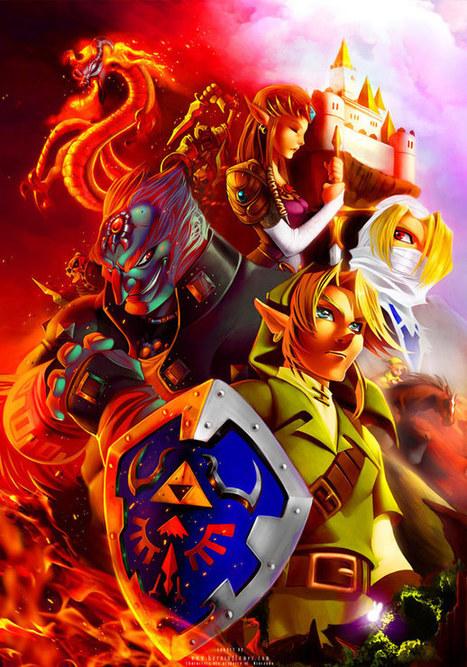 31 Superbes Fan Arts de l'univers de Zelda | And Geek for All | Scoop.it