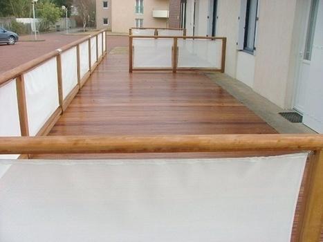 faire un cloison pour sa terrasse en ext. Black Bedroom Furniture Sets. Home Design Ideas