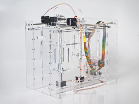 Open Source, Powder-Based 3-D Printer Has Full-Color Potential - Wired | Heron | Scoop.it