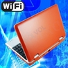 Slim and light weight RED mini laptop Android 2.2, 4GB storage, WiFi internet.