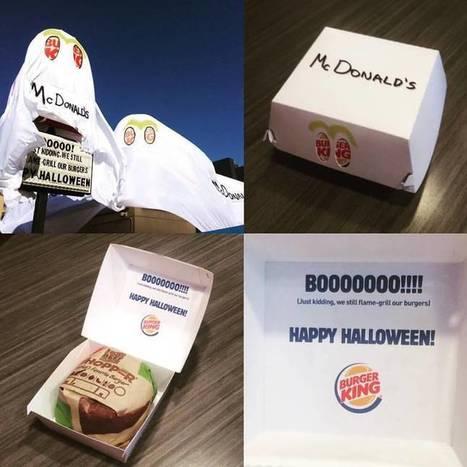 Burger King se déguise en McDonald's pour Halloween | Nostromo, Agence de Com | Scoop.it