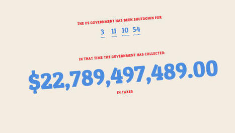 This Is How Much The Government Owes Us In Taxes For The Shutdown | digitalNow | Scoop.it