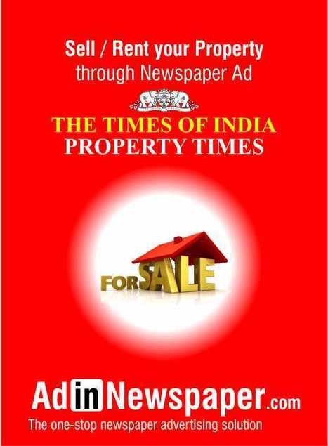Book property Ad in Indian newspaper | Newspaper Ad Agency | Scoop.it