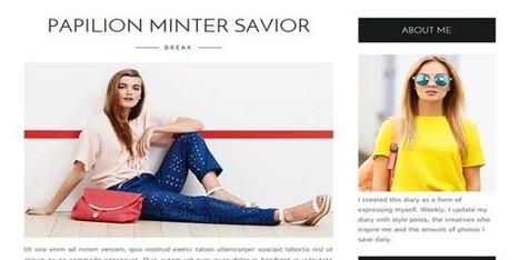 Life Fashion Blogger Template | Blogger themes | Scoop.it