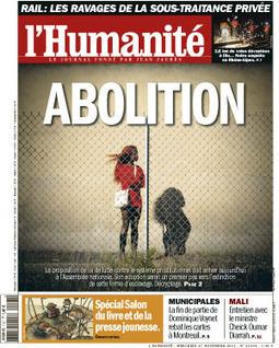 Dans l'Humanité ce mercredi, abolissons la prostitution - l'Humanité | Conflit social - Mouvement social | Scoop.it