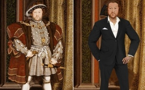 Historical Figures Get a Modern Makeover | Visual & digital texts | Scoop.it