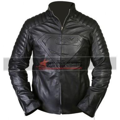 Superman Smallville Black Jacket | Film Star Jackets | Scoop.it