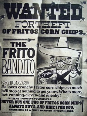 Collective Action And The Frito Bandito » Sociological Images | A Cultural History of Advertising | Scoop.it