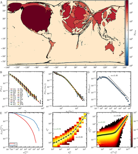 World citation and collaboration networks: uncovering the role of geography in science : Scientific Reports : Nature Publishing Group | Dynamics on complex networks | Scoop.it