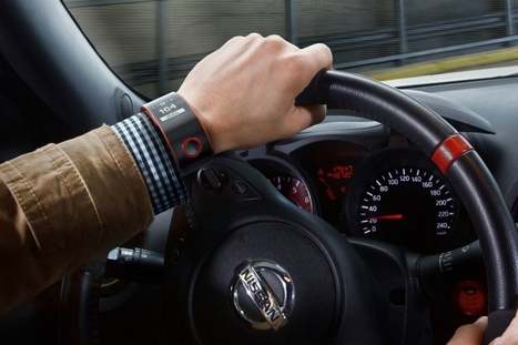 Avec sa montre connectée, Nissan améliore la vie des conducteurs | Connected Fleet Management | Scoop.it
