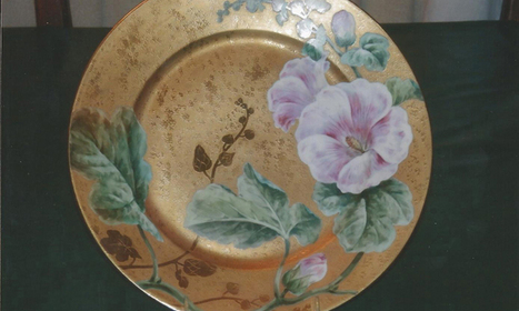 Limoges plates imported from France in the late 1890s. - American Profile | France and All Things French | Scoop.it