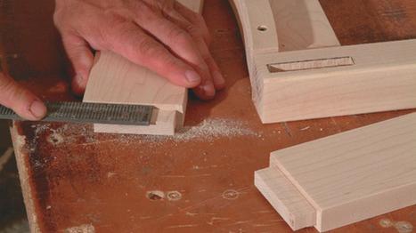 Faire des mortaises la d fonceu - Travail du bois pour debutant ...