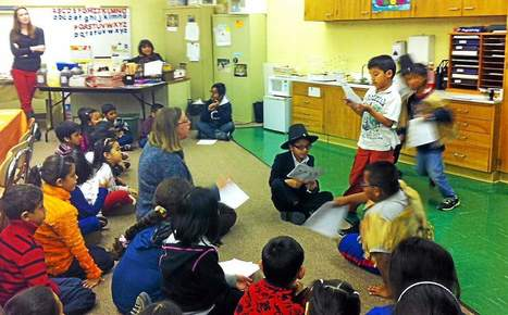 Hatfield Elementary School's ESL students have a Thanksgiving feast | ESOL Students | Scoop.it