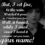 Set Fire To The Rain   roar lyrics by katty perry   Scoop.it