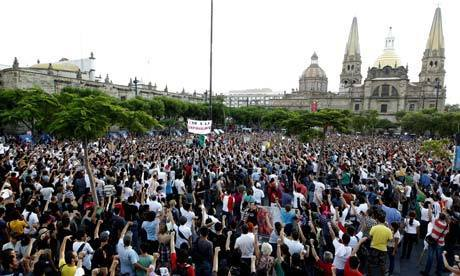 Mexicans protest against Peña Nieto's election win | Climate ... | Conservation, Ecology, Environment and Green News | Scoop.it