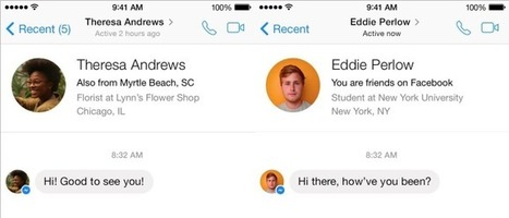 Facebook Messenger Eyes Non-Friend Conversations with ChatID | TechCrunch | SocialMoMojo Web | Scoop.it