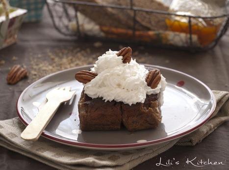 Lili's Kitchen – Recettes végétaliennes - Cake à la patate douce ... | Mynspiration cuisine | Scoop.it