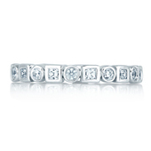 Engagement Wedding Rings and Band by A.JAFFE | Business events for women | Scoop.it